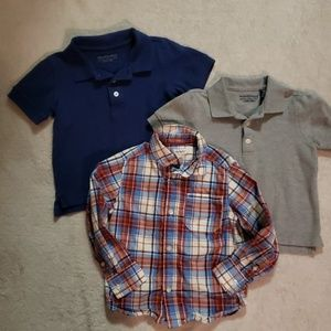 4T Boys Dress Shirt Bundle